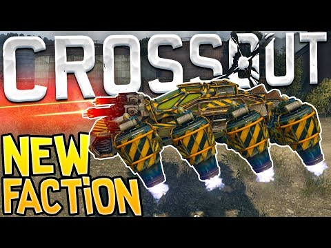 Crossout - Showing Hoverjets & All New Weapons! - Dawn Children Faction Update - Crossout Gameplay