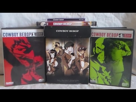 Unboxing Cowboy Bebop Perfect Sessions Limited Edition