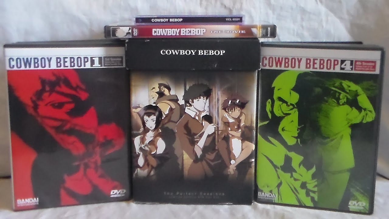 Funimation Announces 20th Anniversary Cowboy Bebop Sets