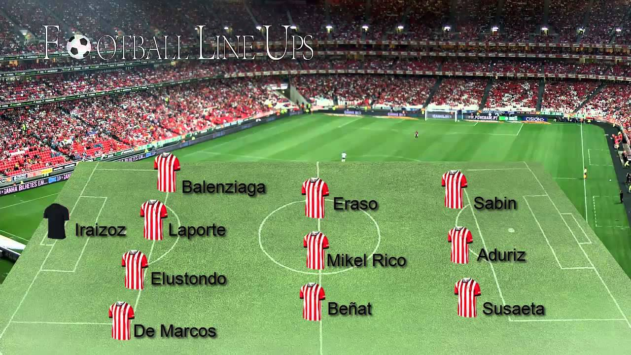 Athletic Club 0-1 Barcelona (Athletic Starting Lineup) La ...
