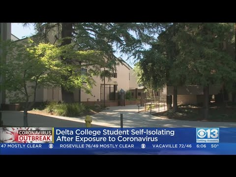 Delta College Student Self-Isolating After Exposure To Coronavirus Patient
