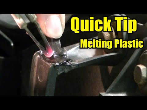 """Fixing Plastic by Melting It Back Together """"Quick Tip"""""""