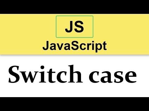 #10 JavaScript Tutorial   Switch case  2019 thumbnail