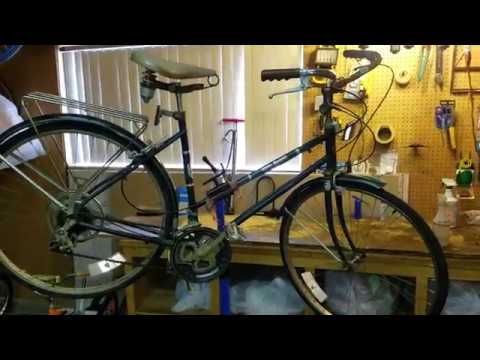 Patina Bicycle Rescue's 1982 Free Spirit Greenbriar Before Reconditioning
