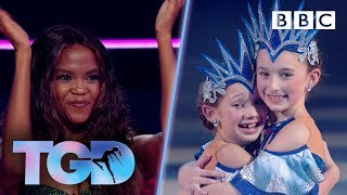 KLA dancers sparkle in beautiful ice challenge - The Greatest Dancer | LIVE