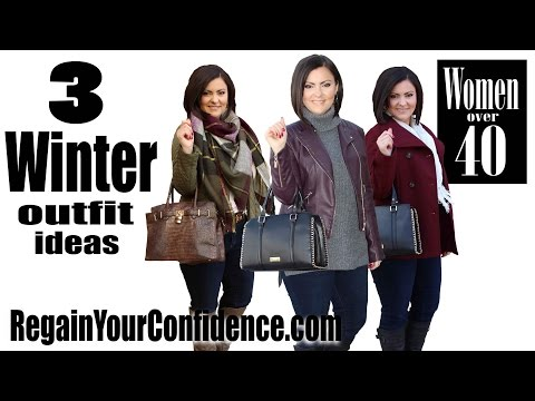 3 Winter Outfit Ideas For Women Over 40 - Regain Your Confidence
