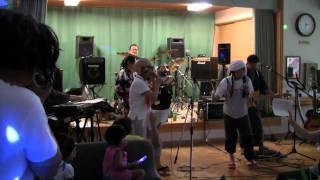 2011年8月20日 和歌山県橋本市 多機能ハウス「こうぜ」にて。 オヨネー...