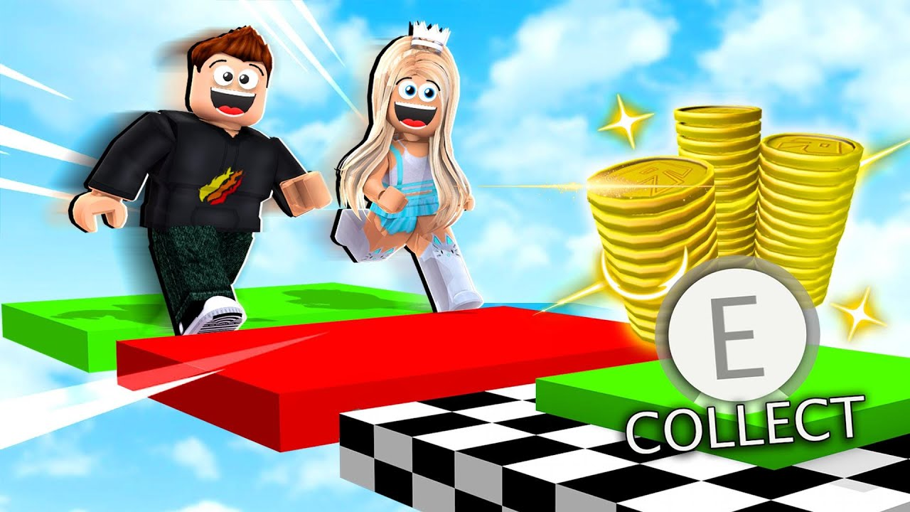 Roblox 1v1 Obby Race Vs My Wife For 100 000 Robux Youtube