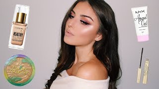 Full Face Of  DRUGSTORE First Impressions  | Tanya Cheban