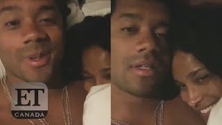 Russell Wilson and Ciara React To $140 Million Contract