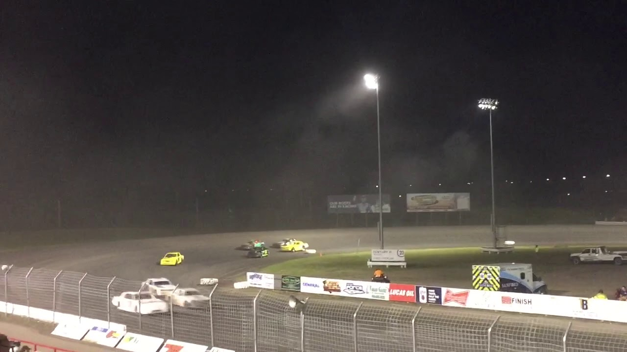 River Valley Auto >> Red River Valley Speedway Imca Stock Car Feature 8 21 19