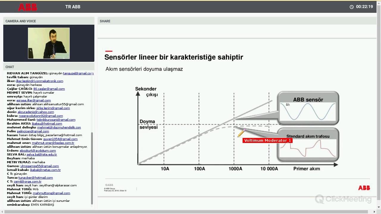 Akım sensörü: çalışma prensibi ve kapsamı