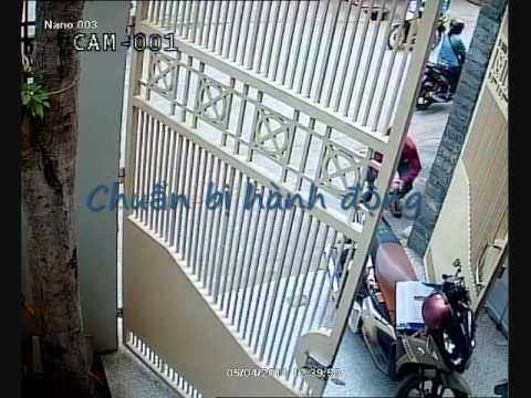 Camera quay canh trom truoc cty Nano 5 4 2011