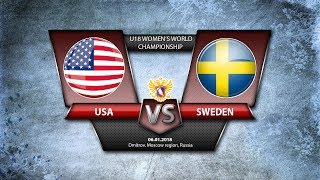 WW U18. USA-Sweden