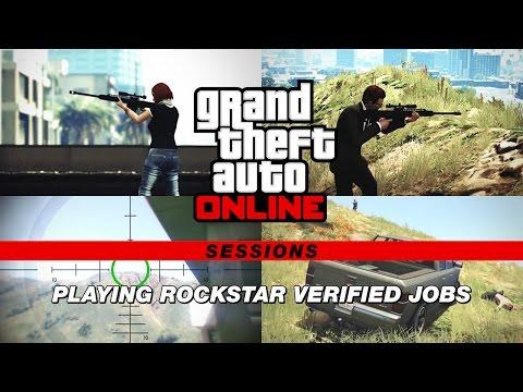 GTA Online Sessions: Playing Rockstar Verified Jobs