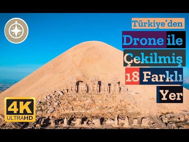 Türkiye'den Drone ile Çekilmiş 18 Farklı Yer (UNCUT)