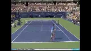 2 Greatest Passing Shots by Roger Federer & Rafael Nadal !!