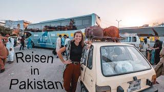 Luxus in Pakistan - So sieht Reisen mit dem Bus hier aus (nicht immer) l Lahore nach Islamabad