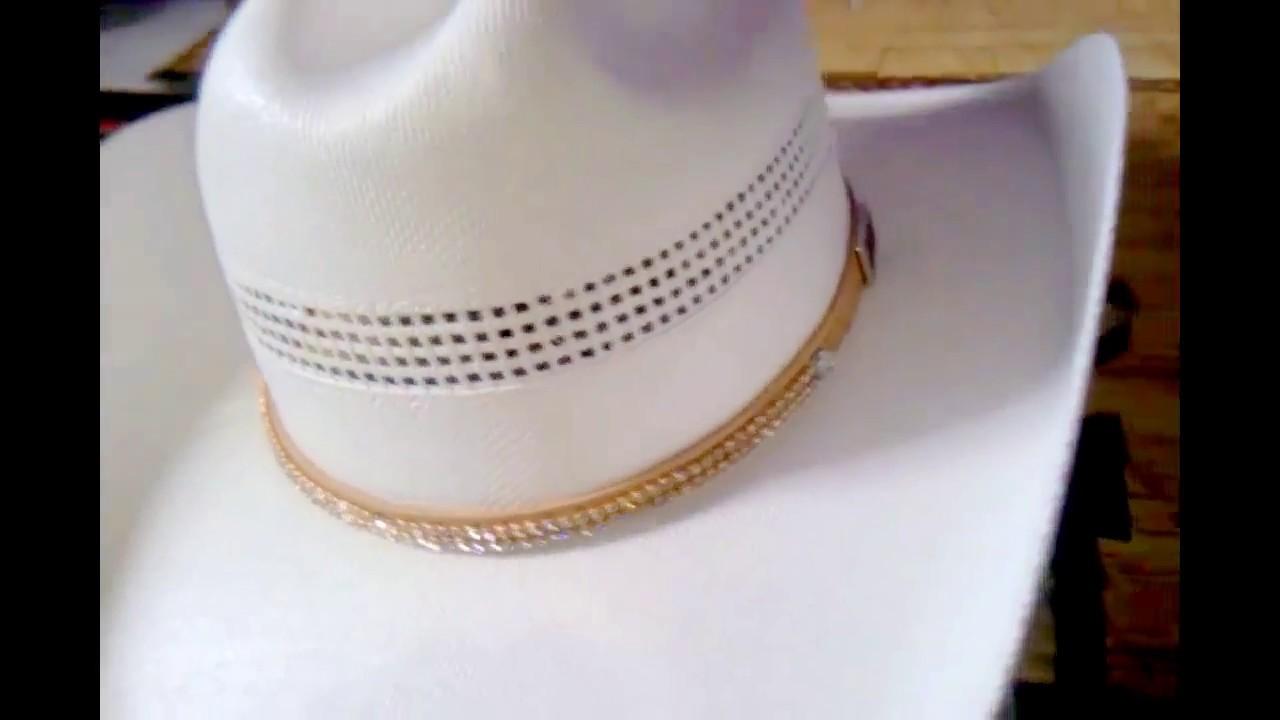 chapéu Country Mundial Com Strass - YouTube f3d089e473a
