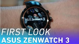 Asus ZenWatch 3 first look