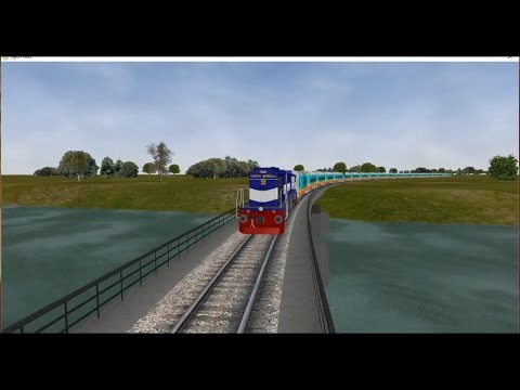 MSTS Indian Railways Sri Ganganagar-Tiruchchirappalli Humsafar Express