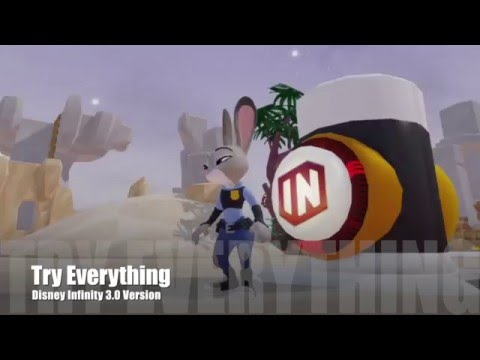 Try Everything from Zootopia  Disney Infinity 3.0 Music Video