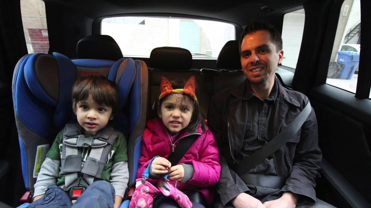 Car Seat / Booster Review For Traveling With Kids Immi Go + Bubble .