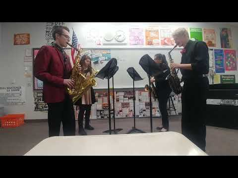 Saxophone quartet Coeur d Alene high school