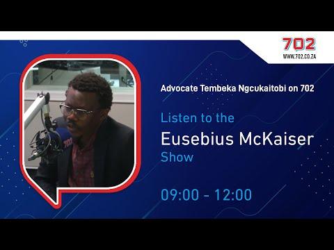 Advocate Temebeka Ngcukaitobi on the Eusebius McKaiser Show