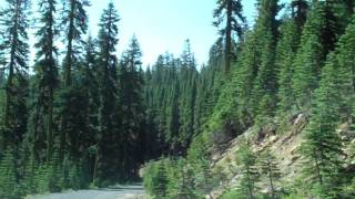 Yuba Pass The whole Drive, Sierra Foothills Driving Video in HD