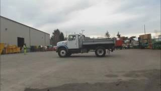 Sold! International 4700 S/A 3 Yard Dump Truck Automatic 7.6L bidadoo.com