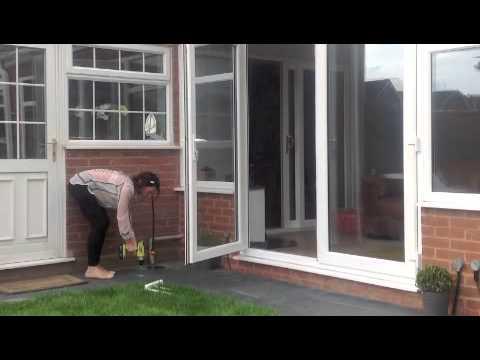 Installing Your Patio Door Stop Youtube