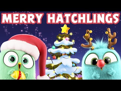 """The Hatchlings """"Deck The Halls"""" - Season's Greetings from Angry Birds"""