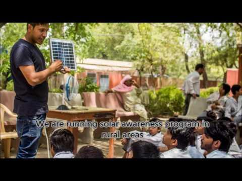 Running leh marathon to fundraise solar laltern