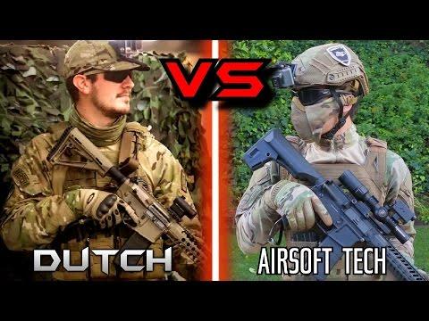AIRSOFT 1v1 - Holandês O Hooligan vs. AirsoftTech23 !!  - 동영상