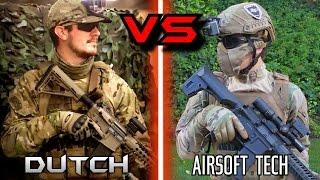 AIRSOFT 1v1 - Dutch The Hooligan vs. AirsoftTech23!!