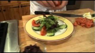 Alaskan Smoked Salmon Nicoise Salad