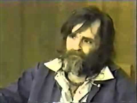 Charles Manson Talks About The Global Elite - Illuminati - B