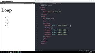 WEB2 JavaScript - 21.반복문