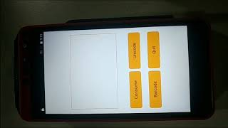 Ciontek android smart payment pos test demo-with functions of card readers, 2d barcode scanner, printer,rear camera and etc
