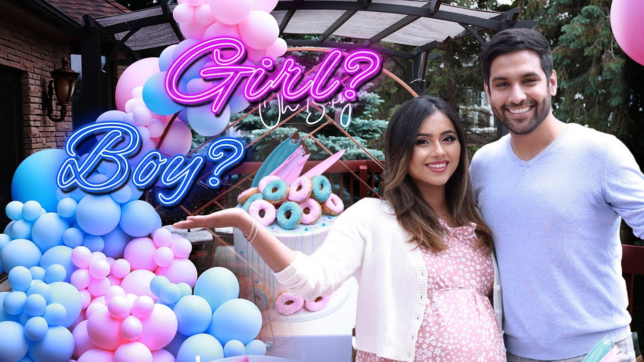 OUR BABY GENDER REVEAL!