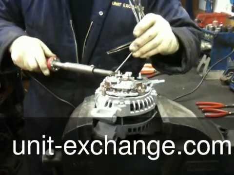land rover alternator rectifier repair YouTube – Land Rover Discovery Alternator Wiring