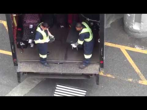 ABUSIVE BAGGAGE HANDLING Part 1, Port of Vancouver, Canada