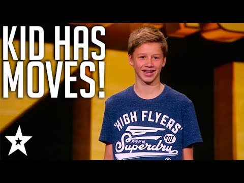 Streetdance Kid Storms The Stage on Got Talent Norway 2018 | Got Talent Global