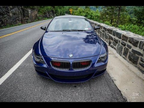 BMW M6 Hawks Nest Run