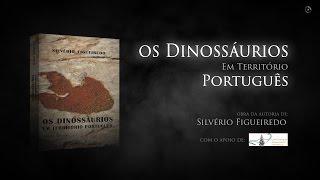 capa de Os Dinossáurios em Território Português de Silvério Figueiredo