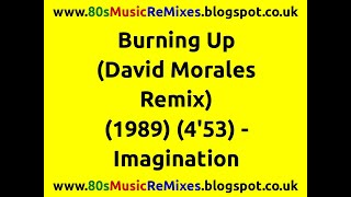 Burning Up (David Morales Remix) - Imagination | 80s Dance Music | 80s Club Mixes | 80s Club Music