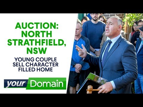 Young Couple's Surprise Windfall At Their North Strathfield  Auction | Your Domain
