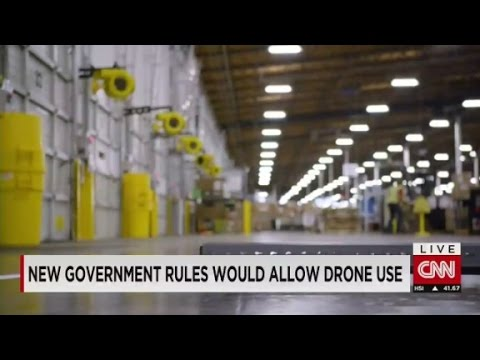 New rules for using drones