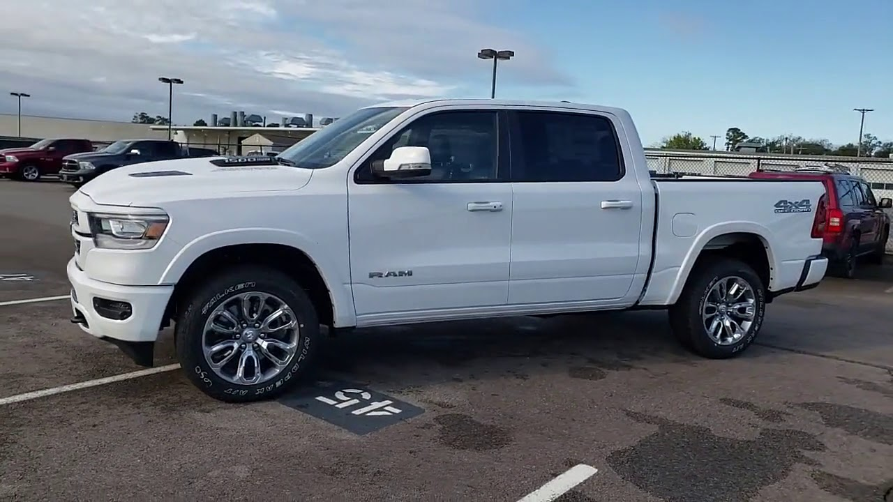 Landers Dodge Benton >> NEW 2020 RAM 1500 LARAMIE 4X4 CREW CAB 5'7 at Landers CDJR